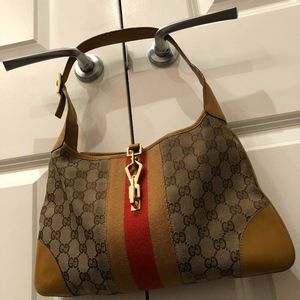GUCCI CANVAS HOBO